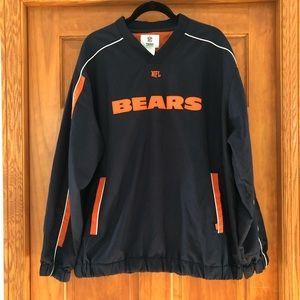 Men's NFL Team Apparel Bears Pullover Jacket